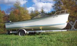 This boat is in great shape ,reason for selling is to upgrade to a bigger boat..The trailer is one month old , the motor is four years old