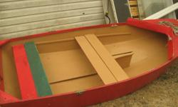 We have a small sail boat no sail but the middle rudder is there. We used it with a little motor.