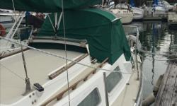 26.5 FOOT BALBOA Solid little boat with many extras. Powered by 2012 9.9 Yamaha outboard, high thrust, long leg, serviced this spring and is in excellent shape. Has dodger and sail main sail cover. Too many extras to mention, BBQ with cover, boarding