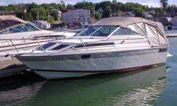 -----FOR SALE OR TRADE ---1988  DORAL TARA 24 FT ..5.7 260HP ,MARINE 350CHEV MOTOR  A NEW OUT DRIVE IN SEPT 2011 . MOTOR WORK EXE .THIS BOAT IS IN EXE COND , INSIDE & OUYSIDE  . COME WITH TRAILER ,FULL CAMPER TOP / FISHFINDER /COMPASS/ STEREO&CD PLAYER /