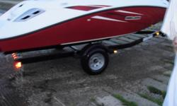 hello, we have a 2009 (bought new at the end of the summer in 2010) challenger boat with 18hours, it comes with a full size cover, cd player and trailer . we are also willing to let someone take over the payment of 313.00 a month, we would just like it