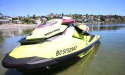 Hello! Selling my 2015 Sea Doo I bought 2 months ago, sounds silly I know. Some things have come up and I have decided to put it up for sale and take a loss. It has been in the ocean twice and elk lake 10ish times since I bought it. Flushed out and