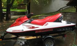 Excellent Condition, Sea Doo  Wake 155hp, 94 hours, Extendable ski pylon Karavan trailer included 3 seater Tons of Storage Winterized professionally and stored indoors at marina Includes a  cover Machine cared for and never abused.  No troubles