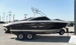 THIS 2006 SEA RAY 220 SELECT IS IN IMMACULATE CONDITION ALL AROUND. WILL NOT FIND A CLEANER, ,MORE CARED FOR BOAT. COMES EQUIPT WITH A FACTORY SEA RAY TOWER. 5.0L MERC CRUISER, BRAVO 3 OUTDRIVE, FULL SNAP IN 2 PIECE COVER, SELECTABLE THRU HULL EXHAUST,