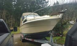 28' sea ray with trailer, 350 engine runs great no issues with the boat absolutely no rot. Not In a huge rush to sell just don't use it as much as I would like. $6500 without trailer. Will consider trade for smaller boat, 19-24'