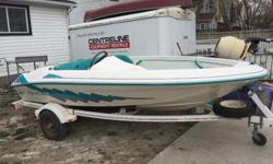 Sea Ray 90 HP it is a very nice boat it was stored for 3 years some how it is not starting starter is going but not starting may needs tune up...or something someone with experience can tell I don't have time or knowledge so I am selling it very cheap