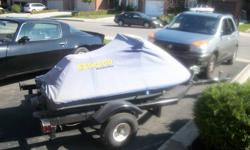 Selling 1989 Seadoo SP  and custom trailer. Needs a battery, safety shut off switch and some attention to the carb. The motor has new piston rings and electrical system was over halled last year. Comes with 2 life jackets and cover. Great winter project
