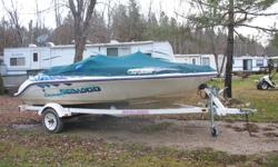1997 seadoo challenger runs good  trailer plated  good shape.  winterized stored inside for winter maintained