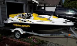 2006 seadoo sportster Beautiful boat! All service up to date, hydro turf kit, new blue top optima battery, factory cover, trailer included. Located in ladysmith for viewing $8500 obo