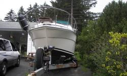 26 ft Searay Merc 260 New rebuilt motor and New outdrive .This boat has a trailer. This boat sleeps 6 people . It also has head and water holding tank. It also has very nice interior. Very good boat to spend the weekend in on the lake. Please Call