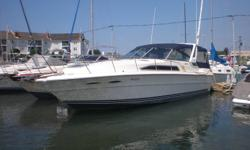 SEARAY 1989 34' Express,twin 454-340hp Mercruiser engines with very low hours,comes with Air,Vhf,Stereo,Ice maker,full camper top, new carpet, etc.Excellent fast running boat,in great condition,bought bigger boat.