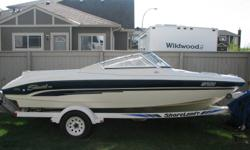 18 ft open bow. Set up to fish, ski or just cruise to your favorite spot. Comes with a 5.0 V8 Volvo penta, Two Canon Telescoping electric downriggers with flush mount hardware. Hummingbird depth sounder. Alpine stereo system. Happy troll bracket, Swing