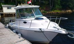 Seaswirl Striper 2101 WA Alaska Pack Walkaround - SportFish Boat   Seaswirl Striper 2101 WA (Walk Around) Alaska Pack Special Edition   Super clean boat Powered by a 4.3 liter Volvo SX Inboard/Outboard Motor (190 HP) with approximately 120 hours. complete