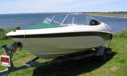 boat is 2001 and trailer and the motor is 2009 dont want to sell but got to dont use it at all 18 hours on the motor if your interested call my hous 902-226-9452 or my sell 902-623-1319 david
