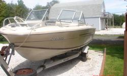 Speed Boat for sale on trailer. 574-6141