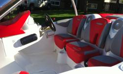 Only 21hrs on this mint condition Sea-Doo boat that still smells like new! Save over $7,000 off the price of a new one & get 4 life jackets, never used tow rope & 3 person tube, custom trailer security lock, custom boat cover & more... This boat will top