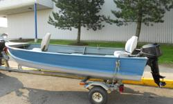 Springbok with a 1993 mercury outboard motor and trailer.