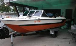 1976 starcraft  85hp merc with trailer and cover Open bow, tri-hull fishing/ski boat  comes with keen bored water skis ,3 tubes life jackits (not sure but i think there 10 or so from lil kids to xxl ) fish finder extra prop, cd player,2 gas tanks