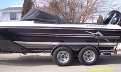 Starcraft 206 Viper (brand new 2012 hull)   2011 250hp Mercury Verado Pro and 9.9 pro-kicker with contols. Smartcraft gauge.  Custom Tandem Trailer with brakes. Snap in carpet,Travel cover, Rockgaurd stone protector and Bellyguard. Warranty on boat and