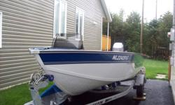 Starcraft Walleye 170 boat, 2003 Mariner 90 HP outboard, 2008 Karavan easy loader trailer, boat has cover, trolling motor, fishing seating positions, motor in excellent condition, serviced regularly and was flushed after every use, kept on trailer and not