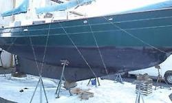 The boat got a new bottom paint coat and zincs last summer. Its a very strong build with no structural rust only surface rust stains. It does need work the interior needs to be redone and the deck. Also the motor does not start. Gross tonnage: 13 Length