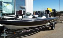 Composite performance at a tin boat price, and often called the roomiest 18-footer on the water. Rated to 115 HP and packed with value, from massive forward deck space to the broad, ultra-stable beam. Standards include huge storage, spacious rod locker
