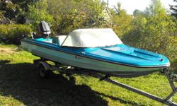 I have a Sunray speedboat don't know the year. the boat is 14 foot has stering wheel also comes with a trailer, 5 life jackets, 2 gas tanks, ladder,  it has a 60HP mairaner Motor right now the motor isnt running ATM it needs a teflon piece that goes