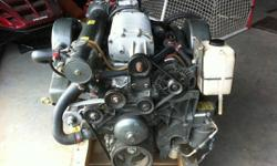 2008 Marine Power Supercharged 6.0 litre - 325hrs, engine was close coupled to a Hamilton Jet 212 with a 3.4kW impellor (twisted 4500rpm), engine never had one mechanical issue whatsoever, does not, and never did burn any oil, never been overheated, 100%