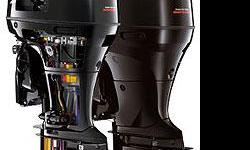 DF175TX THE LARGE DISPLACEMENT AND LIGHTWEIGHT FOUR-STROKES Suzuki's talent for delivering high-end power from compact designs is clearly evident in this pair of in-line four-cylinder outboards. Turning the key unleashes big block performance from their