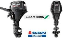 State-of-the-Art designs make the new DF9.9BTX most technically advanced portable outboard on the market today. This is the world's first 9.9 hp outboard motor designed with Lean Burn and Battery-Less Electronic Fuel Injection. The Suzuki EFI system