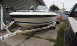 ThunderCraft16.5ft deep V bowrider,170hp,4cyl Merc, stern drive,stainless prop hy5,spare prop,fish finder,cd player,porta pottie,new impeller,wired remote trolling motor,bimmi top,low hours,easy loader trailer.Fish or ski great boat,good shape 40 mph.This