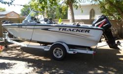 "115 hp Optimax. 18' 6"" Long, 8' Beam 50""x 14""x 14"" Live-well, for keeping the biggest of your fish alive. Very Low Hour Boat and Motor. 24v/65 lb. Electric Trolling Motor. New Tires. Good Quality Boat Cover. Boss Marine Sound System. $19,500 Firm Call"