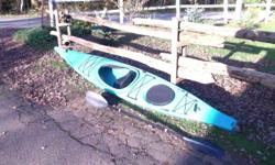Selling these kayaks because I don't have the time to enjoy them anymore and I need the money for university. Blue kayak: is a 14' Necky Lookshaw Sport, large storage space, always been stored inside, rudder and is in awesome condition. Very good and fast