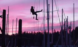We are equipped to work aloft for installations, inspections or repair. Mobile rigging service brings our shop right to your boat. Our goal is to provide technical expertise on selection and installation of rigging hardware. We have the expertise to help