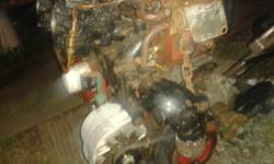 volvo penta b20 engine low hours since rebuilt c/w 2 aq 100 legs several props manuals tons of spare parts.Engine runs great legs are both in perfct working order.heres the issue fly wheel bolts sheared oblonging the the bolt holes they need to be tapped