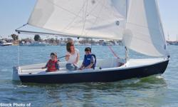 The Harbor 14 is an excellent daysailer for friends and family to enjoy. Its innovative design and premium construction creates a spacious cockpit and excellent stability. The rig is simple to set up and sail, providing a lively and responsive sailing