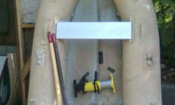 Includes oars (1 new!), pump, valve tool & patch kit