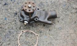 Remanufactured Water Pump for a Chev 292 (6 cylinder Gas Engine).   It is still in the box, never used since it was remanufactured.   O Ring Gasket included.    Price $30.00   Please email me for more information.   Thanks