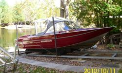 NO PROP, NO OSMOSIS, NO PROBLEMS Low hrs Mercury 200 Optimax jet drive. Custom built for longevity and all around use by Marathon. This boat handles all water conditions with no exposed drive and heavy guage welded aluminum hull. Min winterizing required.
