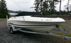 2001 Wellcraft 180 Sportsman. 18 foot open bow runabout rigged for fishing. Mercury 150 Optimax O/B with only 286 hours. 4 Blade Stainless steel prop. Optional Merc 9.9 4s kicker with steering link to main motor. Dual Batteries with switch. Full Faria