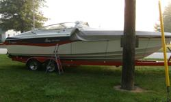 1993 26ft wellcraft nova spyder, 454mag, aluminum intake, demon carb, interior is in great condition, very cleanboat, brand new trailor, asking, 14000.00, no trades, for more info please cxall 519 689 4605
