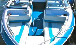 MOVING: 1993 Wellcraft Excel 18 foot Bowrider, blue & white. 85 hp Yamaha 2 stroke outboard - runs great. Great for waterskiing, tubing. fold down seats for suntanning. Includes matching custom Eagle trailer, fishfinder, removable stereo w ipod