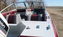 We have a 16 and 1/2 ft Edson boat with a 90 hp Johnson motor for sale:The boat was damaged in a wind storm. We are asking $3500.00 or best offer for all three. We have been told the boat can be fixed.This could be a winter project for anyone that knows