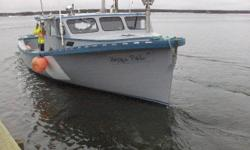 1988 wooden Parsons built fishing boat. 44' x 11' x 16'. No engine, no tranny. Fished spring of 2015. Would make a great pleasure boat, river boat. Call Wayne @ 902-969-9675 (leave a message) Respond by phone, don't check email.