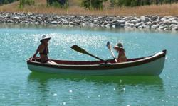 Ken Douglas built cedar 12' clinker with 2 sails, oars, trailer, cover - all in very good condition.  Located in Delta. Ph cell 604 329 0915