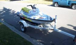 Yamaha VXR 700 Pro series Runs great, lots of fun, lots of power. No problem pulling tube or skier. Excellent handling, comes with trailer. Asking $1400 Firm for quick sale Email only Located in Pincher Creek, Alberta Waverunner Jetski Seadoo