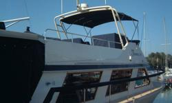 1976 Canoe Cove sedan Cruise in style on this beautiful detailed 41? Canoe Cove. Beautiful teak throughout all in excellent shape. This is basically a one level boat very spacious room. The owners have constantly upgraded their vessel. Pride in ownership